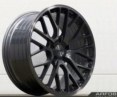 全新 ASGA ARF08 19吋旋壓鋁圈 灰底灰透面 5孔114.3 5孔112 *完工價*