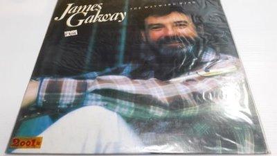 二手珍藏黑膠唱片 詹姆斯·高威James Galway / THE WAYWARD WIND