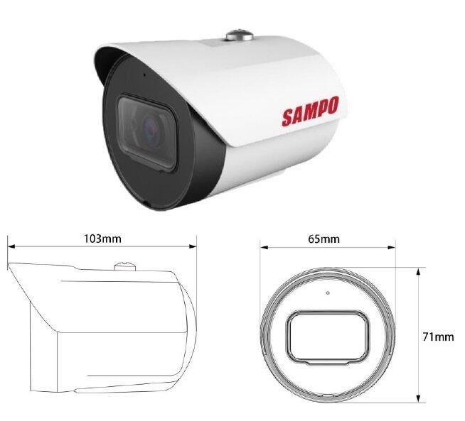 數位通訊~聲寶 SAMPO 星光級 紅外線攝影機 1080P 200萬畫素 四合一 AHD CVITVI CVBS