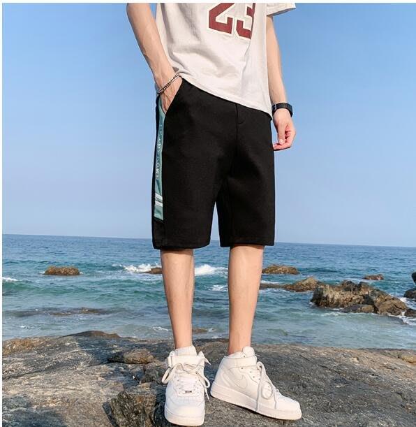 FINDSENSE X 薄款休閒工裝短褲 多口袋 短褲多袋 速幹運動男式短褲