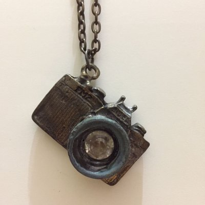 相機項鍊,金屬,復古,個性,穿搭必備