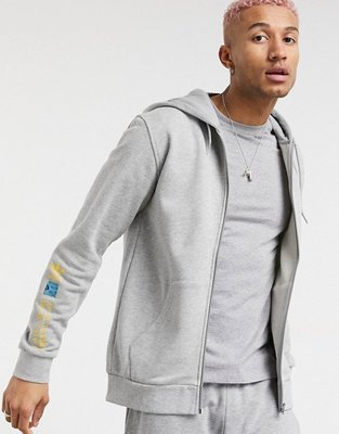 代購adidas Originals adventure zip through 休閒時尚連帽運動外套XS-2XL
