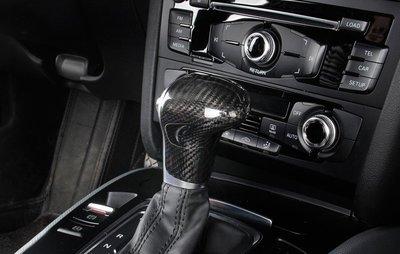 Audi 碳纖維 排檔頭 排檔 A5 A6 A7 Q5 Q7 S6 quattro  碳纖 卡夢 抽真空 8T