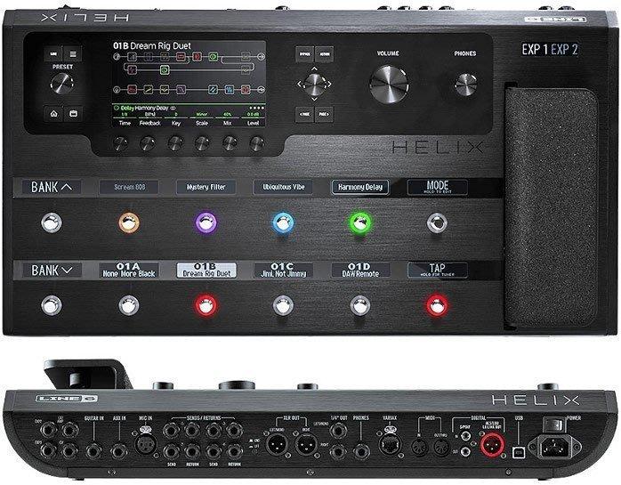 造韻樂器音響-JU-MUSIC- 全新 Line 6 Helix 旗艦機種 綜合效果器 效果器 錄音介面 可信用卡分期