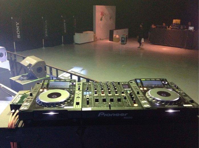 華山展演空間DJ器材租賃 PIONEER全系列DJ器材租賃。