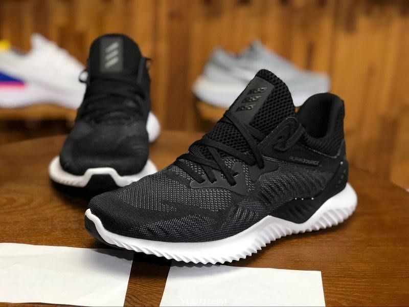 Adidas alphabounce beyond 愛迪達黑白百