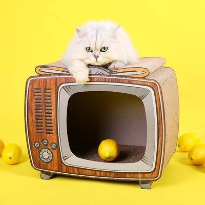 貓抓板窩不掉屑瓦楞紙立式沙發防抓神器磨爪器耐磨寵物小貓咪玩具【選項有分大小價格】
