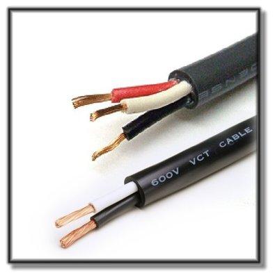 【 阿原水電倉庫 】宏泰 5.5mm平方 * 3C 3芯 電纜線 PVC絕緣電纜線 100公尺(1丸) 充實型 電纜