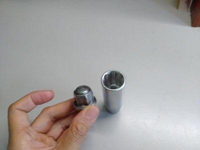 福特Focus專用輪胎螺帽套筒 解決Focus專用輪胎螺帽外蓋脫落的