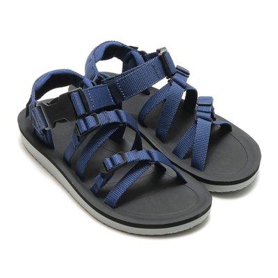 WaShiDa【ALP PREMIER】TEVA 美國品牌 夏日 運動 經典 多點式 調整 織帶 水陸 涼鞋 深藍 女