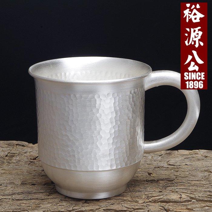 999足銀手工銀茶杯銀水杯手工錘紋 家用銀茶具 辦公杯yyg-121