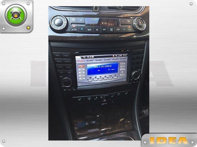 D18030712 BENZ E320 (W211專用主機 多媒體觸控7吋螢幕)數位+導航+倒車顯影 H589