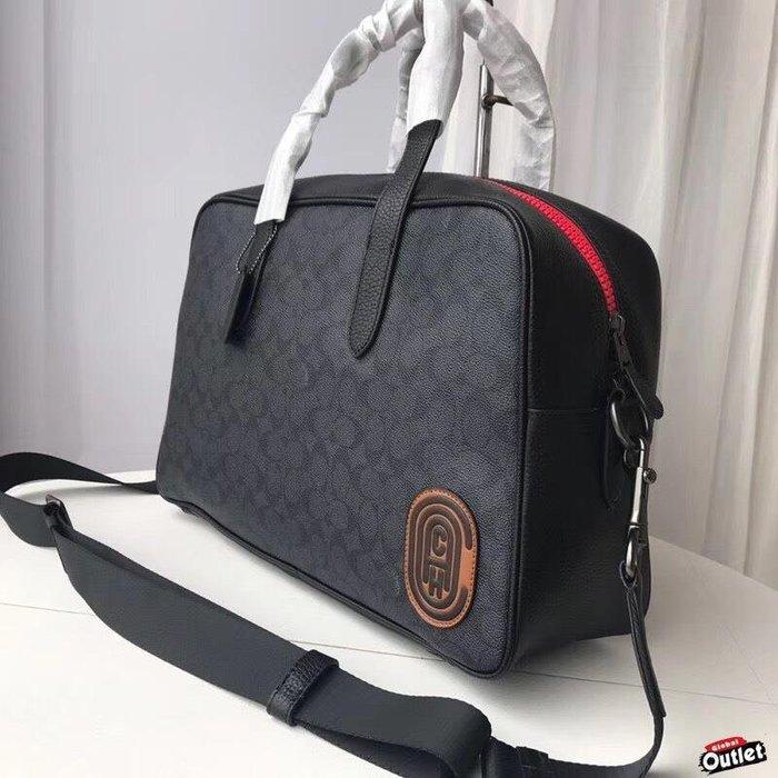 【全球購.COM】COACH 寇馳 73854 經典印花C 男士休閒時尚手提包 大容量 美國代購
