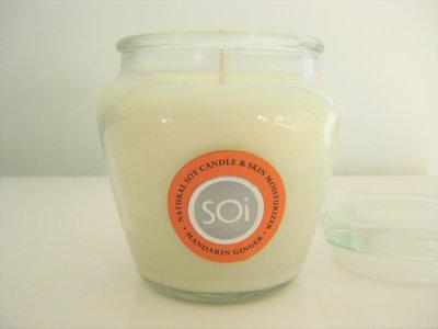 美國加州 The SOi Company 柑橘生薑 Mandarin Ginger 香氛蠟燭 15oz (540公克)