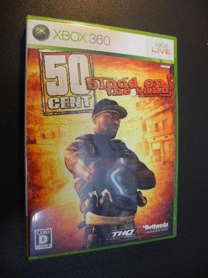 50 Cent Blood on the Sand 五角大帝 英雄本色 │XBOX 360│編號:G3