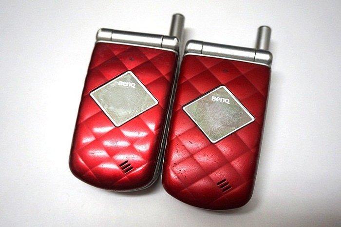 ☆手機寶藏點☆ BenQ A520 摺疊手機 《附全新萬用充+電池》功能正常 PP142