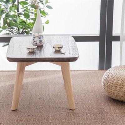 北歐飄窗桌子榻榻米茶幾簡約日式窗台陽台書桌矮桌實木炕幾小茶桌 WD    全館免運
