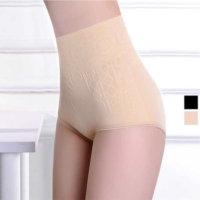 【JD Shop】高腰無縫彈力收腹內褲