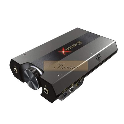 [Anocino]  Creative Sound BlasterX G6 SBX-G6 耳機擴大機 PC PS4 Switch 對應 杜比DAC 創新未來