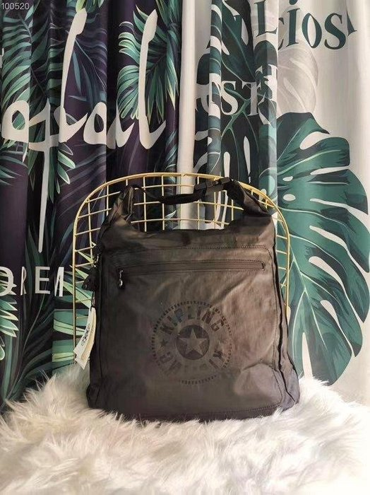 Kipling 猴子包 原始黑 K14537 休閒輕量防水肩背包 旅行包 大款 現貨