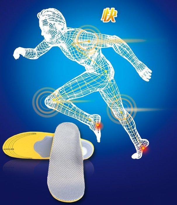 足弓紓壓支撐運動鞋墊  網格足弓墊 扁平足舒壓鞋墊 內八字 外八字 透氣網面高彈性
