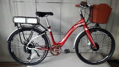 ( 羽傑單車 ) HASA 電動輔助自行車 電動腳踏車 中置 花鼓 電動車 鋰電磁 歡迎來電試乘 25000起