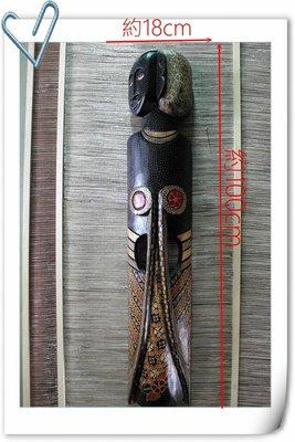 【自然屋精品】 印尼蠟染人像面具-E款 Batik Mask木雕面具 手工  南洋風 峇里島風 餐廳 客廳 商業空間