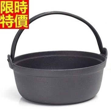 鑄鐵鍋 平底湯鍋鍋具-手工鑄造傳統日式燉鍋煲湯專用1色66f46[獨家進口][米蘭精品]