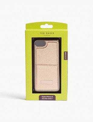 當日寄出[現貨] 英國代購 英國TED BAKER Korrii手機保護殼 Iphone8 玫瑰金