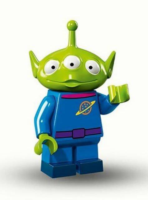 現貨【LEGO 樂高】Minifigures人偶系列: 迪士尼Disney 人偶包抽抽樂71012 | 三眼怪Alien