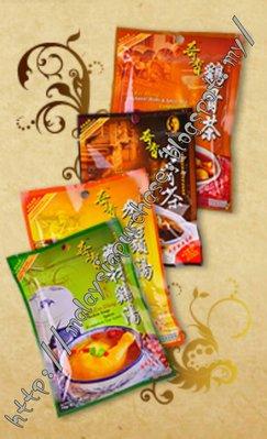 馬來西亞特產 奇香牌肉骨茶 奇香雞骨茶 奇香藥材雞湯 奇香參鬚雞湯 奇香帝皇雞 湯包(6袋组)