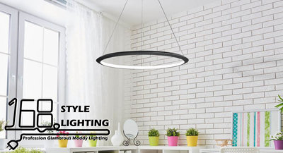 【168 Lighting】無重力-UFO《LED吊燈》(三款)中款GE 81056-2