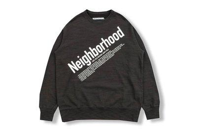【W_plus】NEIGHBORHOOD 18aw -SLUB / C-CREW . LS