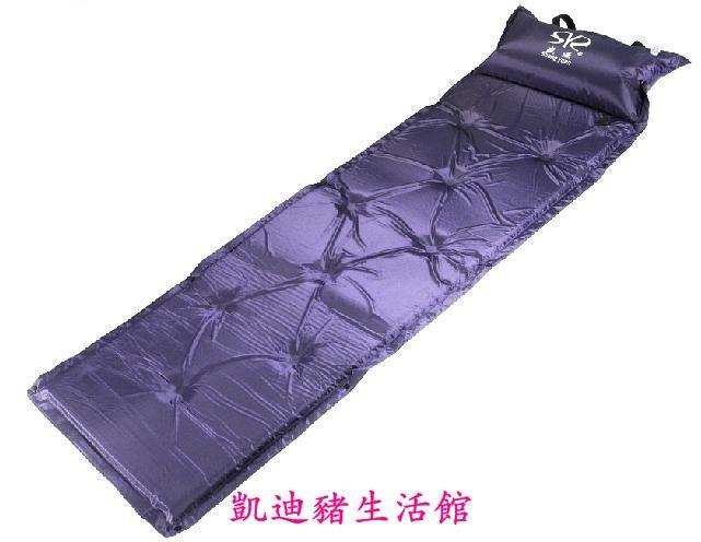 【凱迪豬生活館】戶外自動充氣墊可拼接露營裝備防潮墊睡墊單人地墊睡墊KTZ-200922