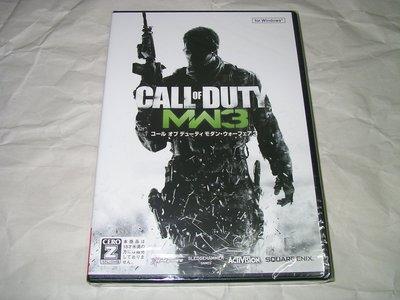 [全新現貨][JWIN] PC 決勝時刻 現代戰爭 3 Call of Duty MW3 日文字幕版 SE-G0038