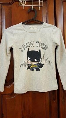超可愛的~棉質蝙蝠俠長袖上衣11號