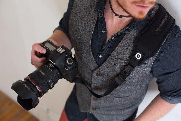 【美國卡司丁™】快拍 減壓 相機背帶『特攻背帶®GlideOne』-相機可360度旋轉(免運)