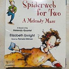 【幼兒英語音樂CD】小pen *聽故事學英語~Spiderveb for Two 【4片裝】