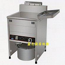 鑫忠廚房設備-餐飲設備:23L落地型電力式油炸機-賣場有西餐爐-工作檯-烤箱-快炒爐