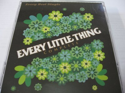 小事樂團 Every Little Thing/Every Best Single ~COMPLETE~ 自藏台版4CD