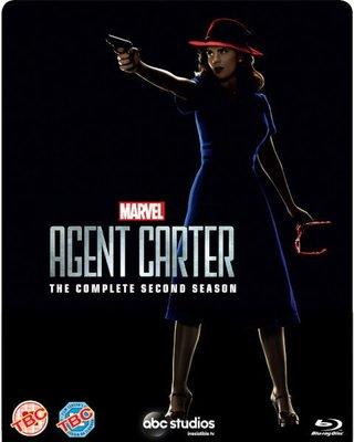 毛毛小舖--藍光BD 卡特探員 第二季 限量鐵盒版 Marvel's Agent Carter: Season 2