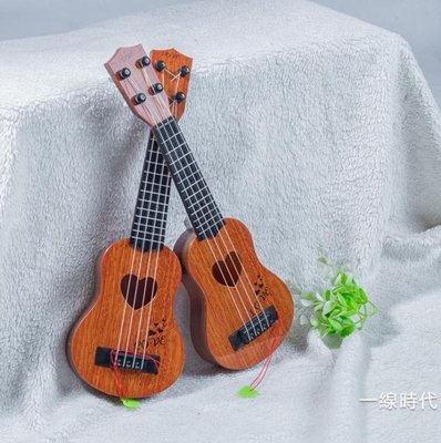 兒童小吉他可彈奏仿真尤克里里初學者學生成人女男兒童入門樂器琴WY
