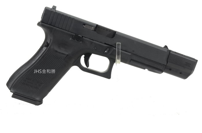 JHS((金和勝 生存遊戲專賣))WE G17 B 槍口抑制器 3762 (不含槍)