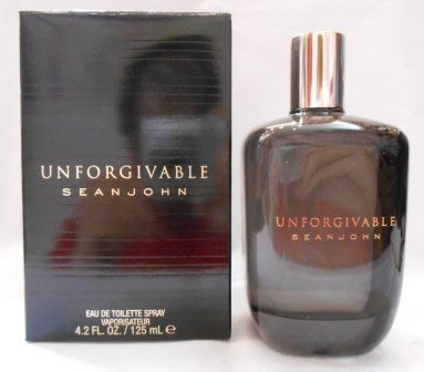 ~~~哈利的精品屋~~~Sean John Unforgivable 吹牛老爹 不可原諒 (男香) -125ml~~~