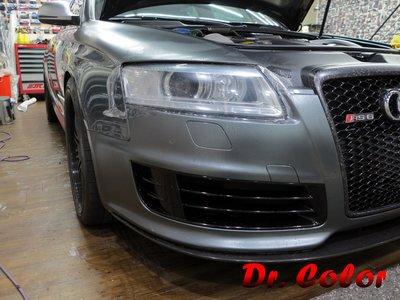 Dr. Color 玩色專業汽車包膜 Audi RS6 Avant 車燈保護膜