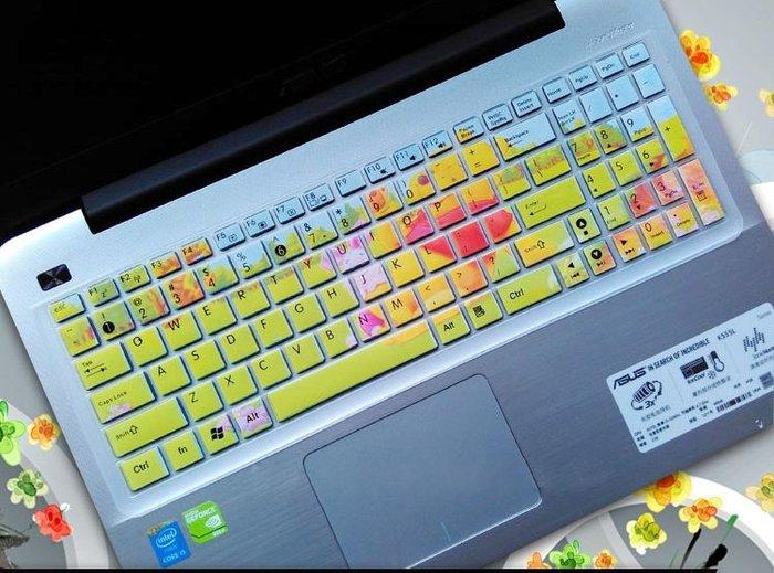 *蝶飛*半彩 卡通 ASUS F542UQ 鍵盤膜 ASUS VivoBook F542UQ 15.6吋 筆電鍵盤保護膜