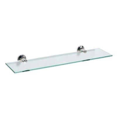 《101衛浴精品》Cassido 亮面 304不鏽鋼 玻璃平台架 B10057《可貨到付款 免運費》