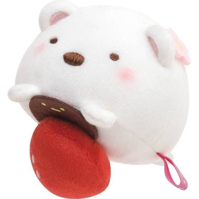 角落生物--日本正版sna-x角落夥伴/角落生物白熊大福公仔玩偶--秘密花園