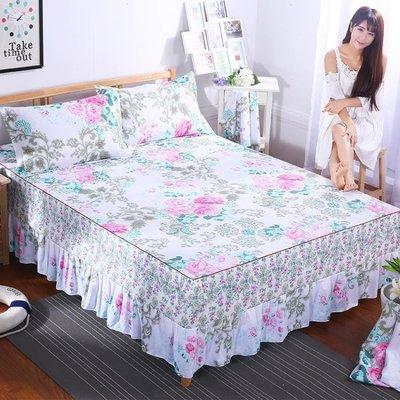 ~ 快出~床包組 床裙席夢思韓式床罩床套單件床蓋床單床笠1.5米613~712