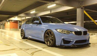 【樂駒】Kohlenstoff 碳纖維 carbon 前擾流 前下巴 空力 改裝 套件 BMW F80 M3 輕量化